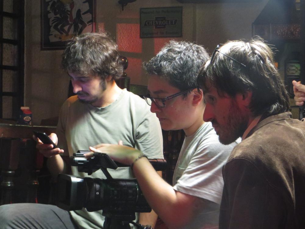 Nos colamos en el rodaje del videoclip de cowabunga (3/4)
