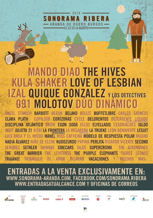 sonorama cartel 2016