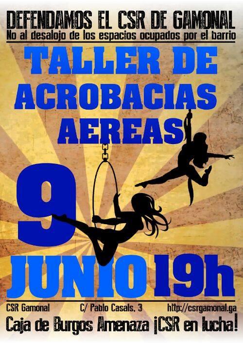 TALLER ACROBACIAS