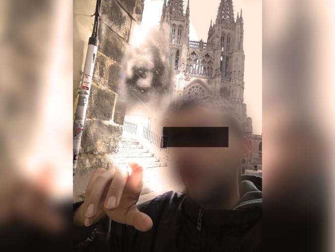 selfie con dios Burgos