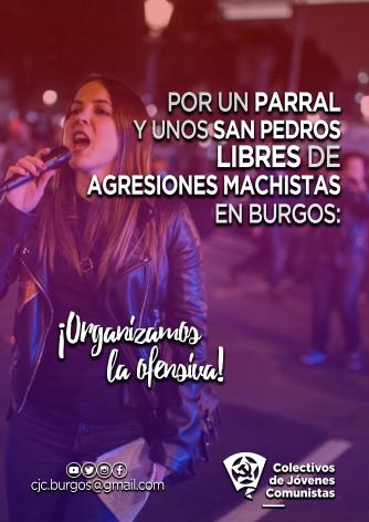 Cartel - Campaña antiagresiones Parral y San Pedros